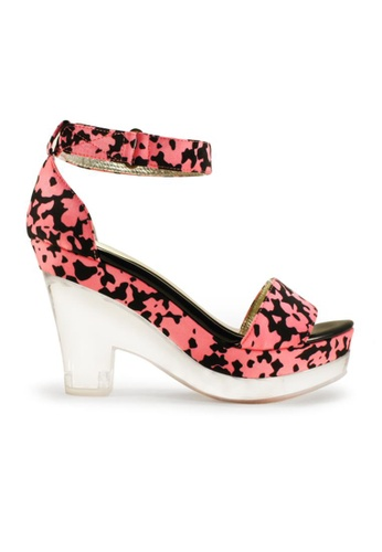 Gripz pink Cloudy Open Toe Acrylic Wedges GR357SH23IMMSG_1