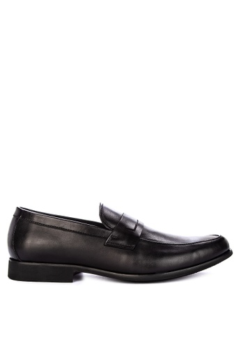 Sledgers black Montpellier Formal Penny Loafer 3CBB0SHADAD5C3GS_1
