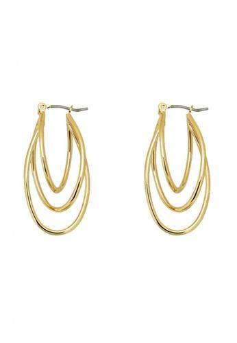 SKEDA gold Whisk Away Gold Earrings 10251AC5121AF5GS_1