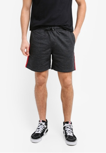 Factorie red Sport Fleece Shorts 47513AAF5C50CCGS_1