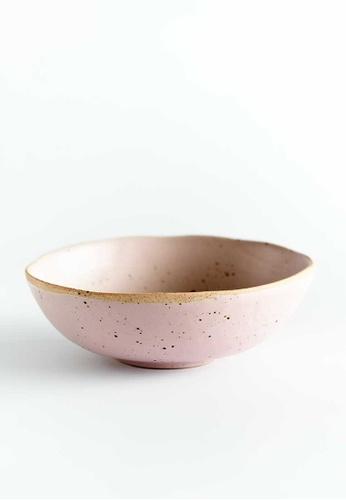 KRA Sanctuary pink Sii Chompuu Free-Form Soup Bowl 9950FHLF1BA87DGS_1