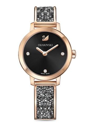 Swarovski multi and silver Cosmic Rock Bangle Watch 32070AC8A0A881GS 1 ceb73dc993