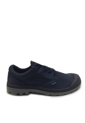 Palladium Boots navy Pampa Ox Puddle WP Men's Boots 310F5SHE833705GS_1