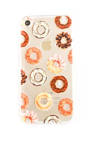 Fancy Cellphone Cases multi Donuts Soft Transparent Case for iPhone 7 FA644AC80RTNPH_1