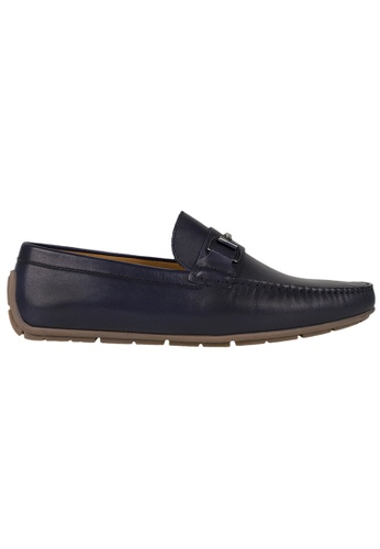 Tomaz blue Tomaz C333 Front Buckled Loafers (Navy) 2D049SH5E6C909GS_1