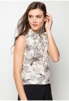 Ives Sleeveless Buttondown Shirt
