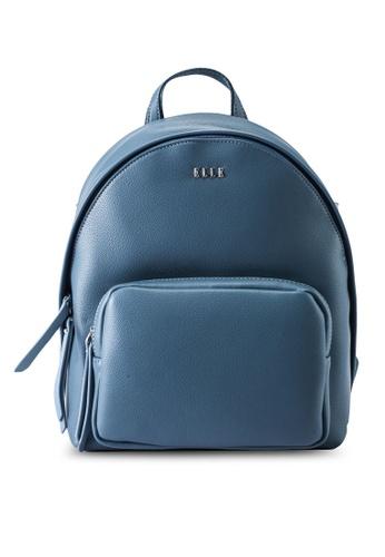 ELLE blue Alize Backpack 972D3ACE54904CGS_1
