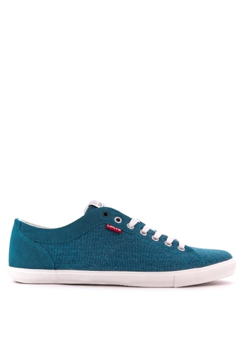 Levi's green Woods Sneakers LE892SH22PSZPH_1