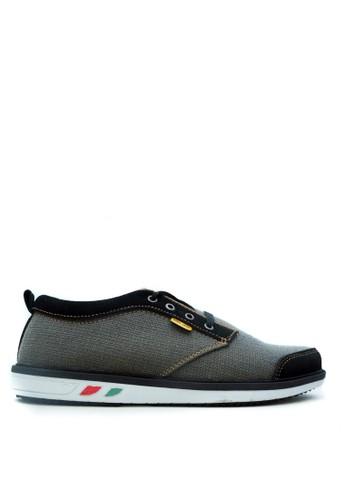 CDE black Sepatu Sneakers Pria Keren Hitam Black Bagus 8B8CDSH653632DGS_1
