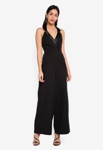 49da5fdfbf Miss Selfridge black Black Tux Jumpsuit EC5C2AA0EC3A82GS 1
