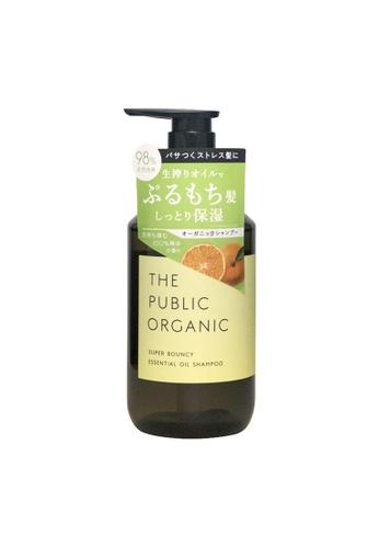 THE PUBLIC ORGANIC THE PUBLIC ORGANIC Super Bouncy Essential Oil Shampoo 480ml 52D78BE3BC075BGS_1