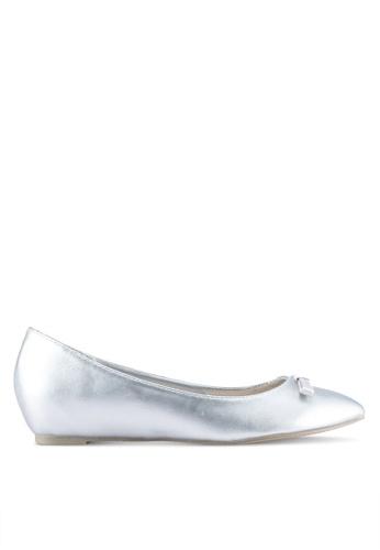VINCCI silver Bow Flats 9E055SH28BECDDGS_1