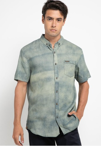 Obermain green Polemic Shirt 92642AAB85F700GS_1