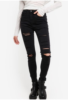 Supre  The Skinny Ultra Ripped Jeans