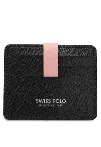 Swiss Polo black Casual Card Holder 4CBADAC83AE35BGS_1