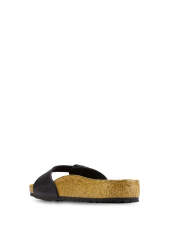 Birkenstock black Madrid Sandals BI090SH39CSAMY_1