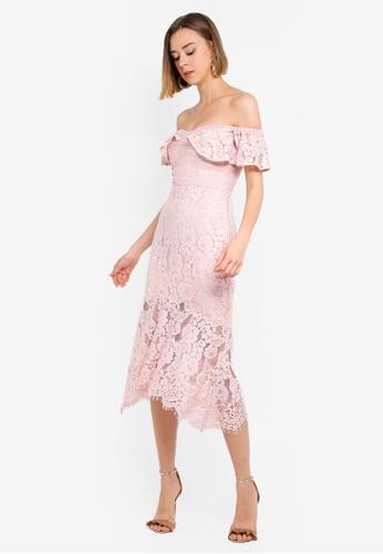 e6785a8bc16 Phillipa Lace Off Shoulder Dress