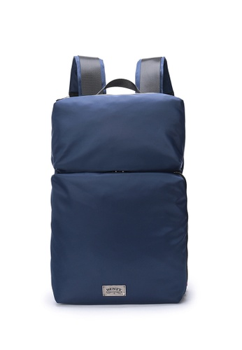 DUSTY blue Multi-functional compartment Backpack C91BEACF61ED07GS_1