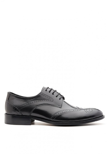 Kings Collection black Messina Oxford Shoes BF5EASH880F27EGS_1