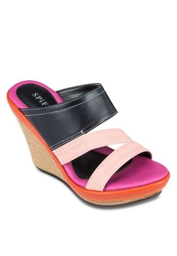 多帶zalora 折扣碼楔形涼鞋, 女鞋, 楔形涼鞋
