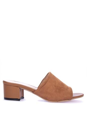 7f3e32301e7 Shop Rock Rose Block Heel Sandals Online on ZALORA Philippines