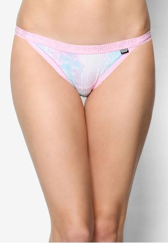 Bonds pink and multi Hipster String Bikini Print Panties BO376US58TXHMY_1
