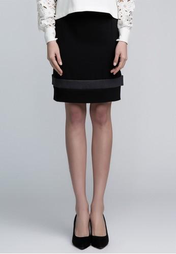 羊毛剪裁半身裙esprit香港分店, 服飾, 及膝裙
