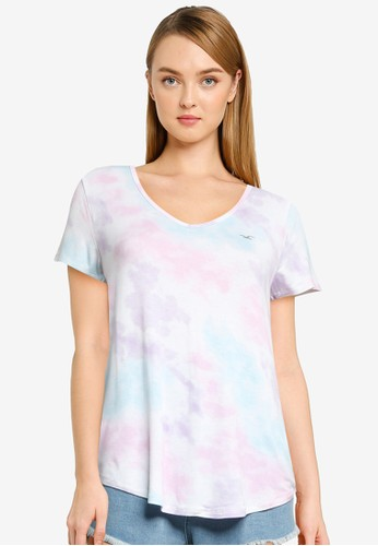 Hollister multi Icon Easy Tee AD0A8AA754D931GS_1