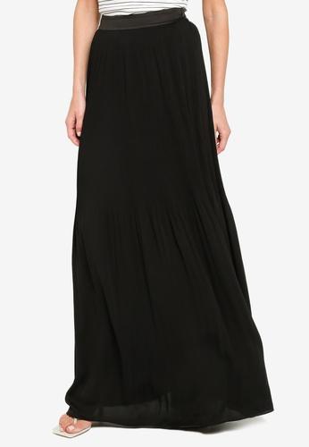 Sacoor Brothers black Women's Long Skirt A6907AA2E6BBFCGS_1