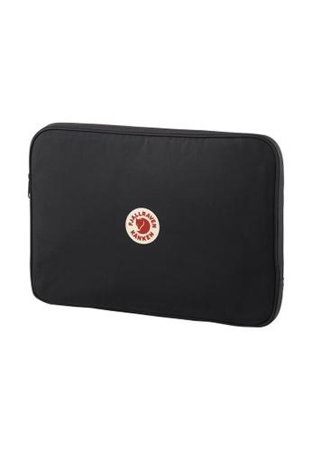 "Fjallraven black Fjällräven Kanken Laptop Case 15"" Black 3C254ACDA85E35GS_1"