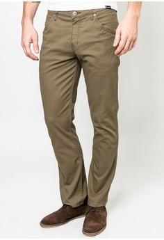 Crank BedCord Olive Pants