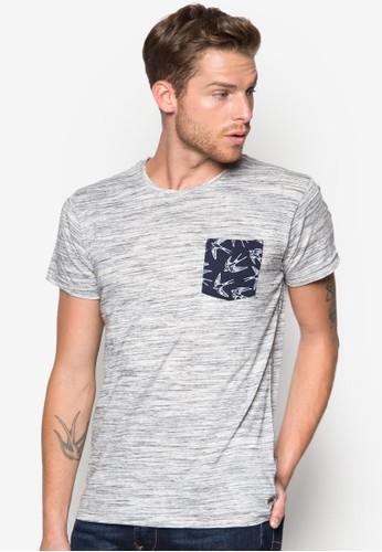 Blaineesprit 童裝 燕子印花口袋T 恤, 服飾, 印圖T恤