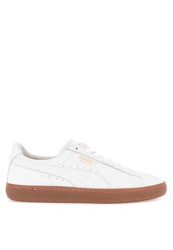 half off f8816 60949 Shop Puma Basket Classic Gum Deluxe Sneakers Online on ZALORA Philippines