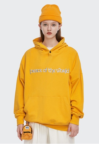 Twenty Eight Shoes Loose-Fitting Letter Embroidered Hoodie 1355W20 1FE3DAA67B389CGS_1