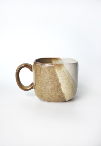 Your Lagom brown Sand Dune Square Coffee Cup FDFAFHL025CC5CGS_1
