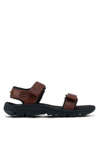 Timberland brown Roslindale 2-Strap Sandals 39169SH115F92EGS_1