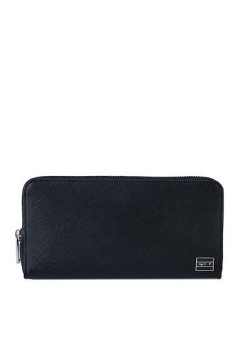 agnès b. black Long Wallet 8B44FAC141E493GS_1