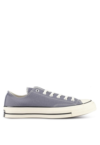 Converse black and grey Chuck Taylor All Star 70 Ox Sneakers CO302SH0SW6JMY_1