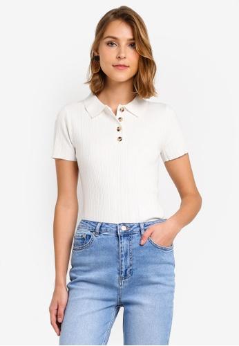 d743eaaf94e6b Buy WAREHOUSE Multi Rib Polo Shirt Online on ZALORA Singapore