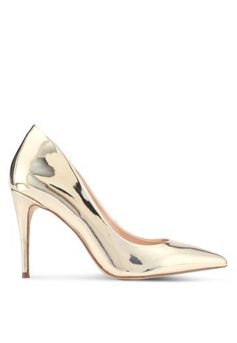 ALDO gold Traycey Heeled Shoes AA41ESH11C5A14GS_1