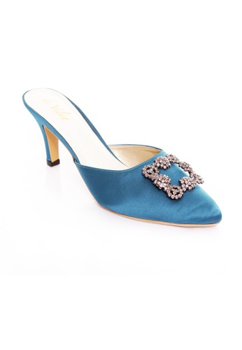 De Velvet blue De velvet Marielle Tosca DE825SH78GOZID_1
