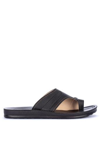 H2Ocean black Adison Sandals 620C5SH6D8E104GS_1