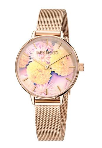 Morellato gold Ninfa Quartz Watch R0153141502 Rose Gold Metal Strap F543CACA57677AGS_1