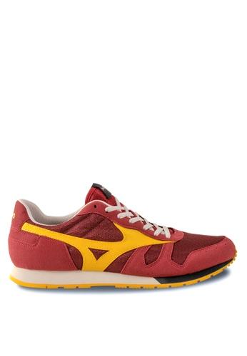 Mizuno red ML87-S Lifestyle Shoes MI461SH71EEAHK_1