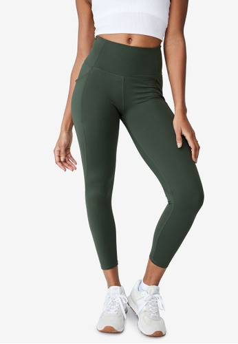 Cotton On Body green Ultimate Booty 7/8 Tights 6275CAAE46A40CGS_1