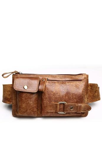 Twenty Eight Shoes Vintage Leather Fanny Pack 8135 84DC9AC643FD8EGS_1