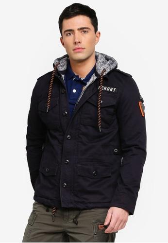 Buy Superdry Military Storm Hooded Jacket Online on ZALORA Singapore 650f323b1
