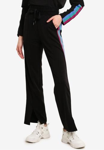 Desigual black Lurex Band Pants 4BF49AAB27953DGS_1