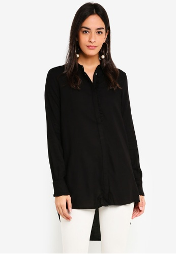 Vero Moda black Astrid Long Shirt C1FB4AAF36EA86GS_1