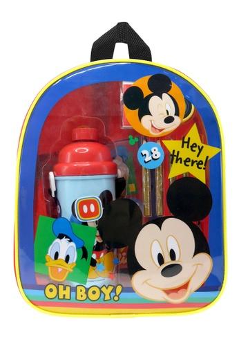 Disney Mickey Disney Mickey Oh Boy Kids Backpack With Stationery Set E4BB8KC7D12EFAGS_1